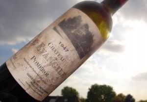1947 wine 300x208 Chateau LEvangile Pomerol Bordeaux, Complete Guide