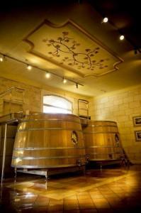Angelus vats 199x300 Chateau Angelus St. Emilion Bordeaux Wine, Complete Guide