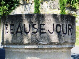 Beausejour stone 300x225 Chateau Beausejour Duffau Lagarrosse St. Emilion Complete Guide