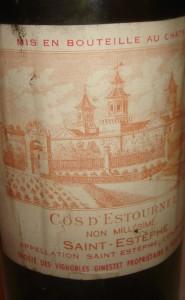 COS NV 185x300 Chateau Cos dEstournel St. Estephe, Bordeaux, Complete Guide