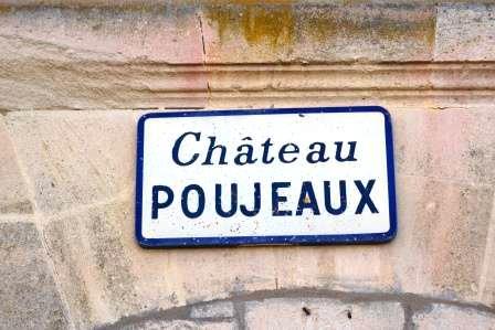 Chateau Poujeaux Sign Chateau Poujeaux Haut Medoc Moulis Bordeaux, Complete Guide