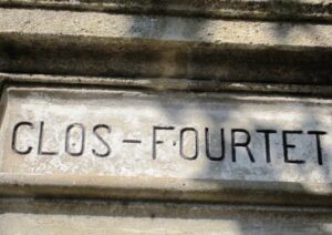 Clos Fourtet stone