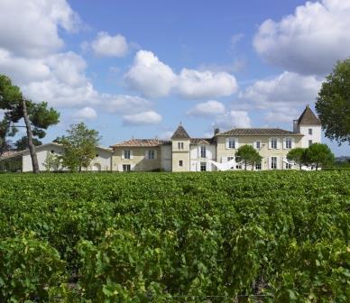 Clos des Jacobins Chateau with clouds Copy Clos des Jacobins St. Emilion Bordeaux, Complete Guide