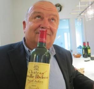 DIdier Poyferre Smell 300x284 Chateau Leoville Poyferre St. Julien Bordeaux Wine, Complete Guide