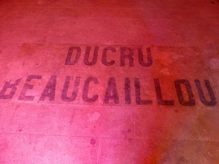 Ducru Beaucaillou Floor