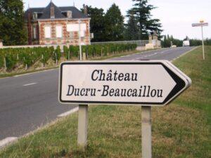 Ducru sign 300x225 Chateau Ducru Beaucaillou Bruno Borie on Fire in Bordeaux