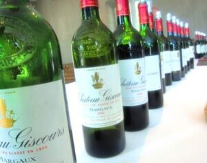 Giscours tasting 300x236 Chateau Giscours Margaux Bordeaux Wine, Complete Guide