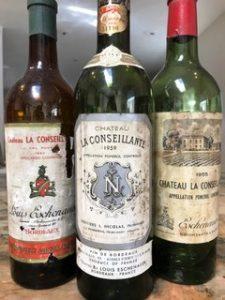 La Conseillante old vintages 225x300 Chateau La Conseillante, Pomerol, Bordeaux, Complete Guide