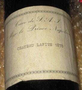 Lafite 1878 273x300 Chateau Lafite Rothschild Pauillac, Bordeaux, Complete Guide