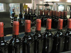 Latour bottles 300x225 Wine Tasting at Chateau Latour, Chateau Mouton and Valandraud