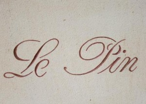 Le Pin Sign 300x214 Le Pin Pomerol Bordeaux Wine, Complete Guide