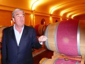 Olivier Bernard Barrel Room 300x224 Domaine de Chevalier Pessac Leognan Bordeaux, Complete Guide