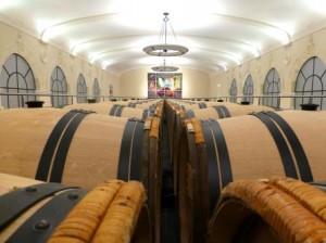 Pavie Barrel Cellars hall 300x224 Chateau Pavie St. Emilion Bordeaux, Complete Guide
