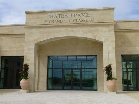 Pavie Cellars Entrance Chateau Pavie St. Emilion Bordeaux, Complete Guide