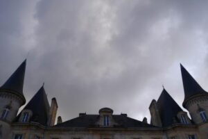 Pichon Baron roof