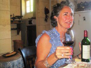 Sophie fourcade1 300x225 Clos St. Martin St. Emilion, Smallest Classified Bordeaux Wine