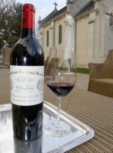 cheval1 223x300 Cheval Blanc St. Emilion Bordeaux Wine Pure Silk & Velvet