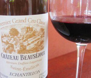 Beausejour 2009 glass 300x255 2009 St. Emilion Bordeaux Wine Pt 1 2009 Vintage Report
