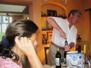 Chevalier dinner1 300x225 2009 Haut Brion La Mission Haut Brion, Haut Bailly, Smith Haut Lafitte