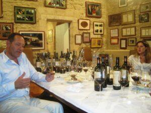 Couspade dinner1 300x225 2009 St. Emilion Bordeaux Wine Pt 1 2009 Vintage Report