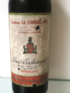 52 Conseillante 225x300 7 Blind Men tastes 7 decades of Bordeaux wine from the 20s   80s!