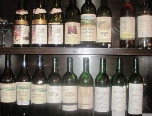 7 blind math all bottles 300x229 7 Blind men taste La Turque, Chateau Margaux, Lafleur, Pavie and more!