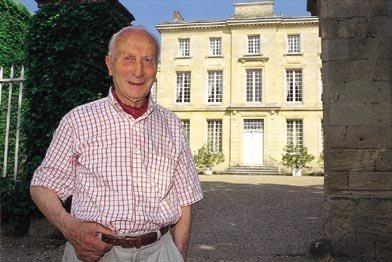Thierry Manoncourt Chateau Figeac, St. Emilion passed away