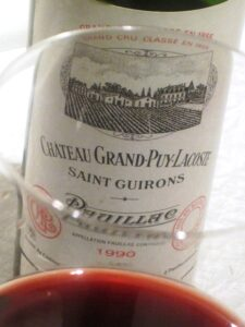 90 Grand Puy Lacost Wine 225x300 Le Monde gets Bordeaux Wine News from The Wine Cellar Insider!