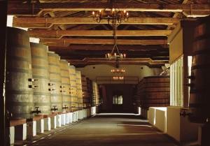 Chateau Margaux Vat Room 300x209 Paul Pontallier Bordeaux Wine Vinification, Wood or Steel