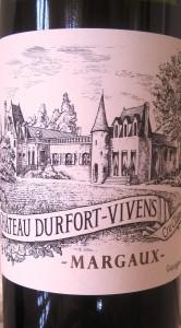 DV 166x300 2010 Durfort Vivens and Gonzague Lurton in Margaux