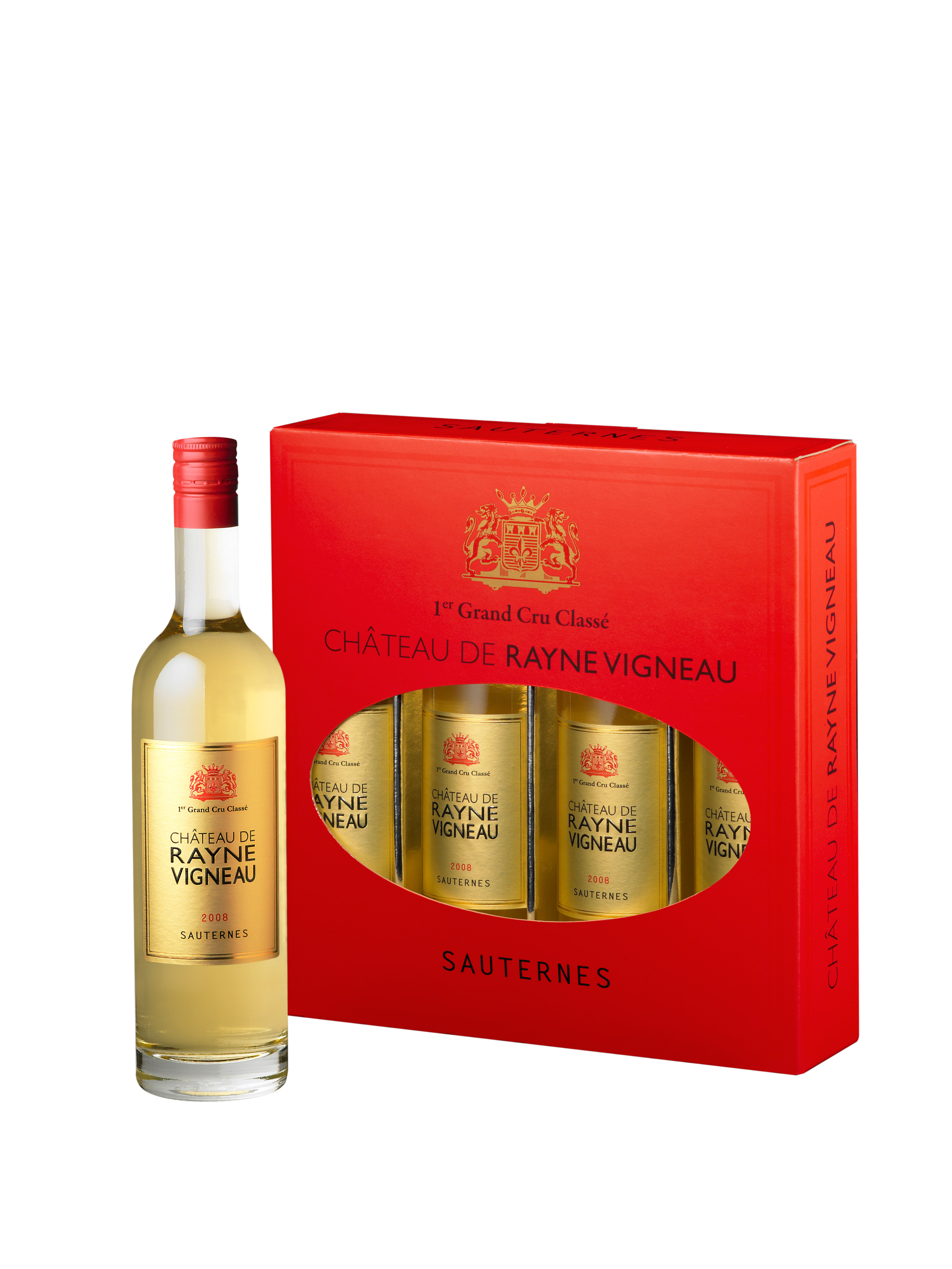 Chateau Rayne Vigneau offers smaller, designer Sauternes bottles