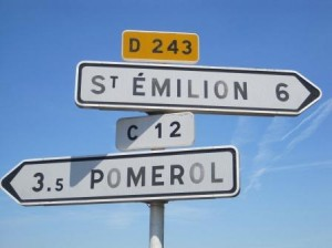 St. Emillion Pomerol Right Bank Sign 300x224 Right Bank Bordeaux, Best Wines, Vineyards, Appellations, Buying Guide