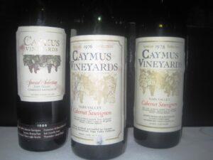 tenser caymus 300x225 Haut Brion Wine Tasting 1955, 1959, 1961, 1982, 1989,1990 Haut Brion!