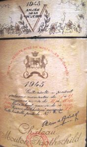 45 Mouton label 177x300 My list of The Ten Best Wines Tasted during the last Decade