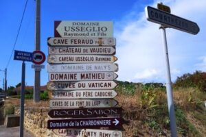 Chateaneuf du Pape Vineyard Signs 300x200 All About Chateauneuf du Pape Guide Best Wine Character Style History