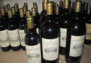 LMHB Bottles 2 300x208 La Mission Haut Brion Tasting 1961 1999 with Bipin Desai