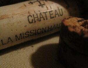 LMHB CORKS 300x233 La Mission Haut Brion Tasting 1961 1999 with Bipin Desai