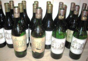 HB Delmas Bottles 300x207 Haut Brion Jean Philippe Delmas 1961 1982 1985 1989 1990 Wine Tasting