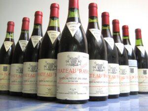 Rayas Bottles 300x225 Rayas Chateauneuf du Pape Rhone Wine
