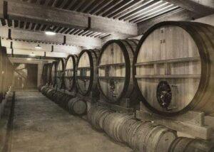 Vieux Telegraph cellars 300x214 Domaine du Vieux Telegraphe Chateauneuf du Pape Rhone, Complete Guide