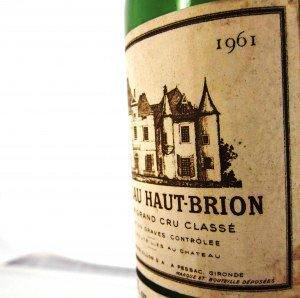 1961 Bordeaux wine