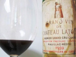 1959 Latour 300x224 1959 Bordeaux Wine Vintage Report and Buying Guide