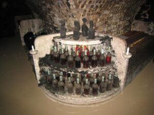 Tokaji bottle cellar 300x225 Tokaji Wine, The National Treasure of Hungary for Centuries