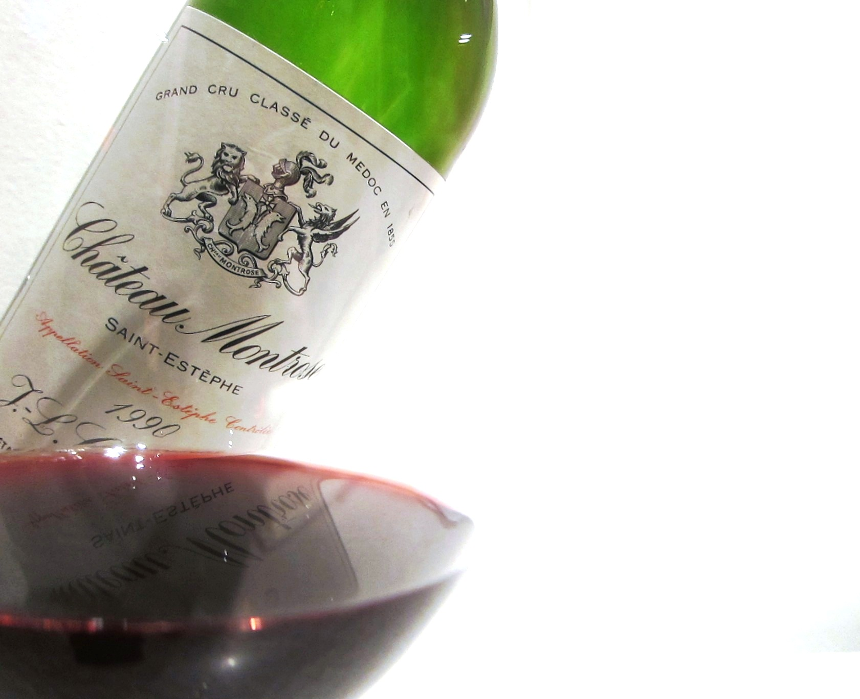 Chateau Montrose Bordeaux wine