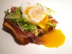 Ham Egg Brioche 300x225 Breakfast of Champions: Brioche, Duck Eggs and Champagne
