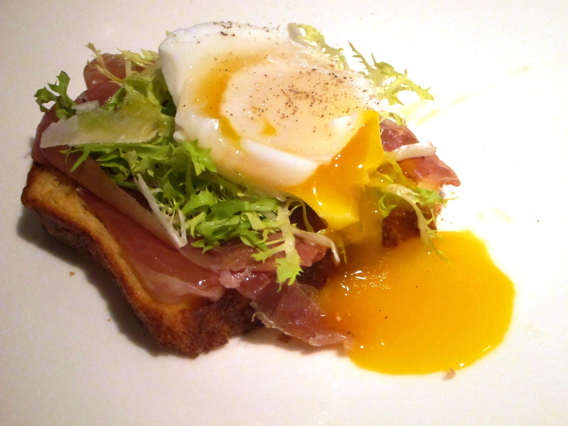 Breakfast of Champions: Brioche, Duck Eggs and Champagne
