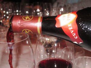 Ledbury Capo bottle 300x225 Chateauneuf du Pape Rhone Wines in London at The Ledbury