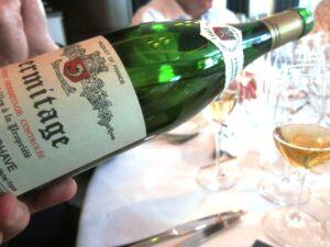 Ledbury chave blanc 300x225 Chateauneuf du Pape Rhone Wines in London at The Ledbury