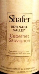 Shafer Cabernet 19781 158x300 Wine Tasting Notes, Ratings