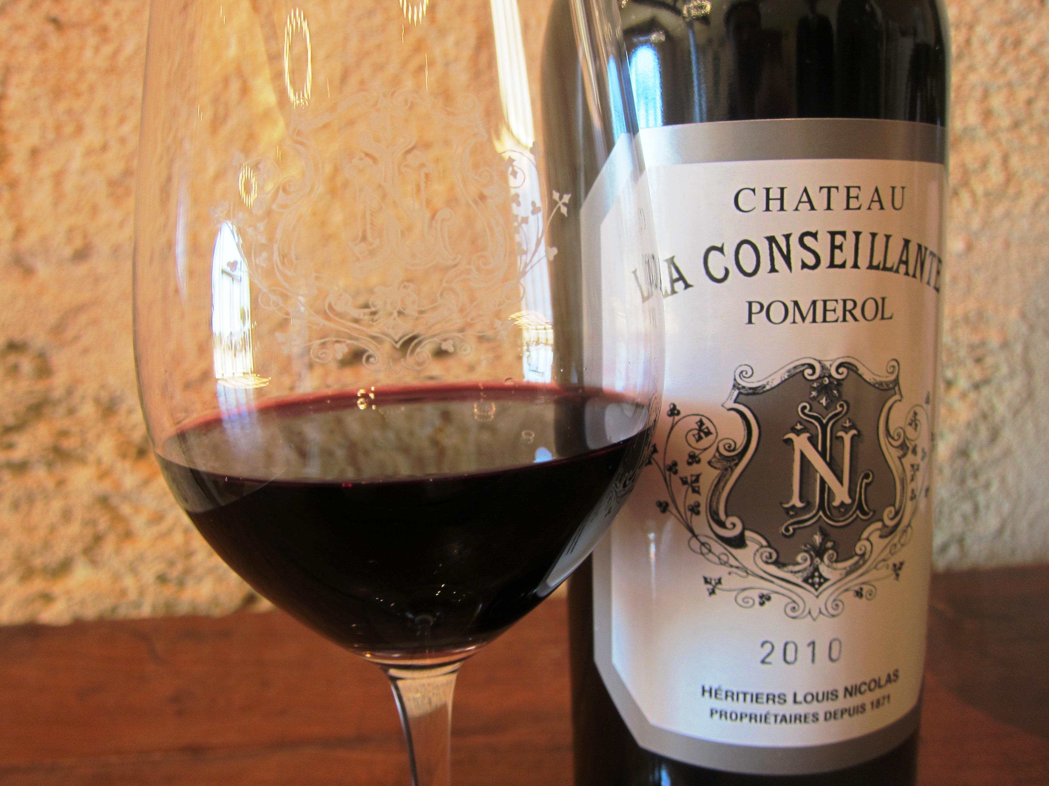 2010 Conseillante Bordeaux Wine